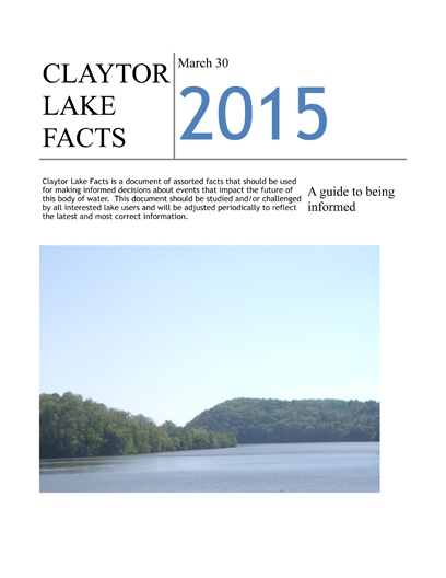Claytor Fact Sheet 2015