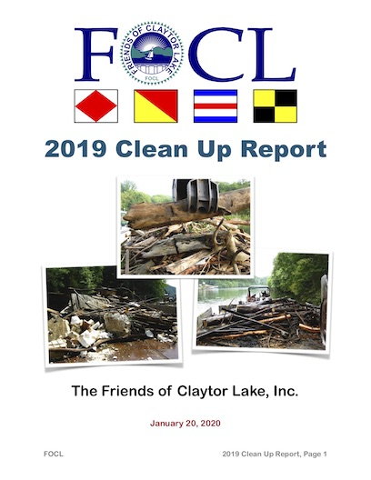 2019 Clean Up Report